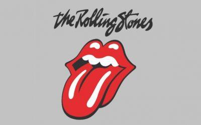 Le logo du groupe The Rolling Stones protégé par la Propriété Intellectuelle