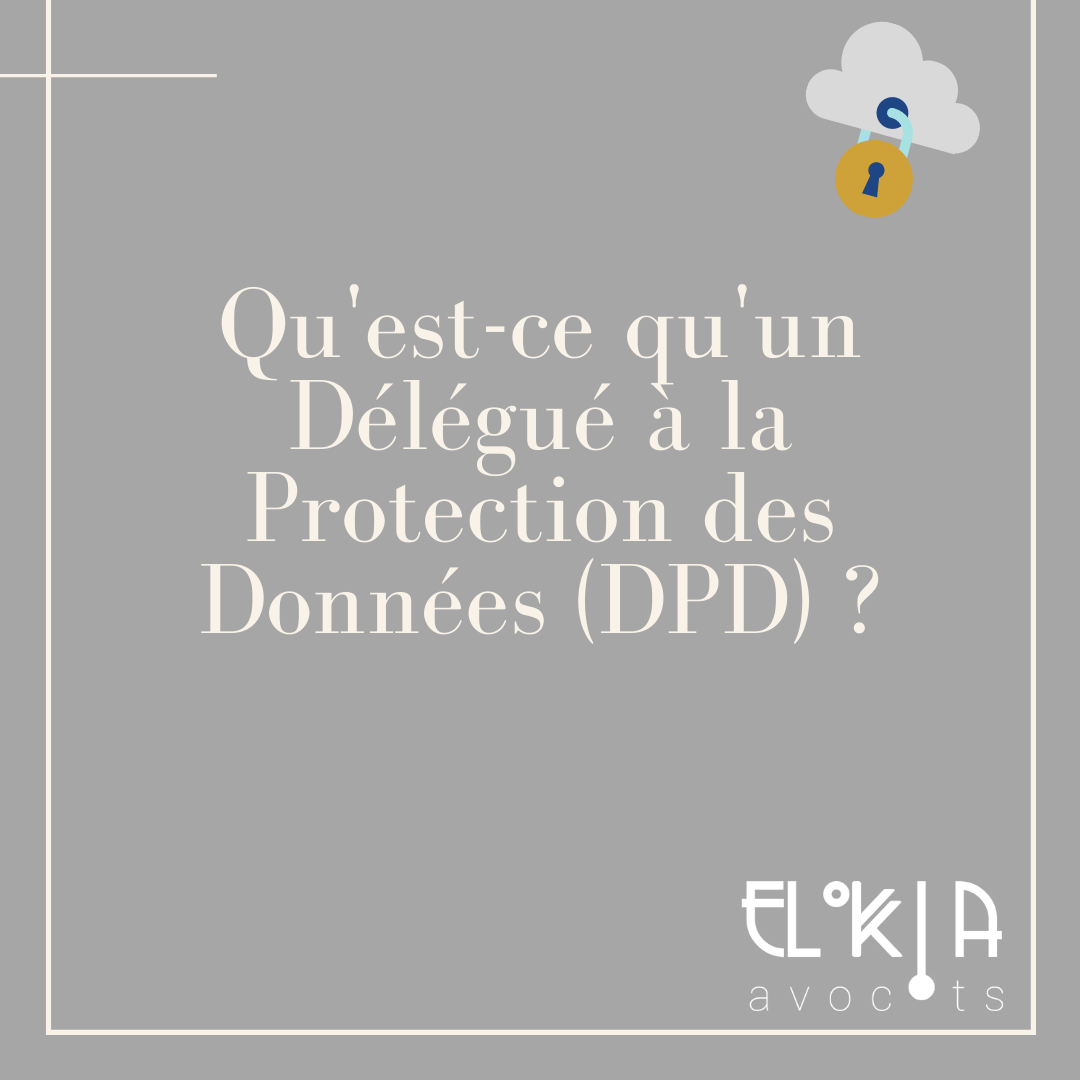délégué à la protection des données dpd dpo