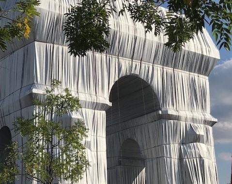 L'oeuvre éphémère de Christo et Jeanne-Claude